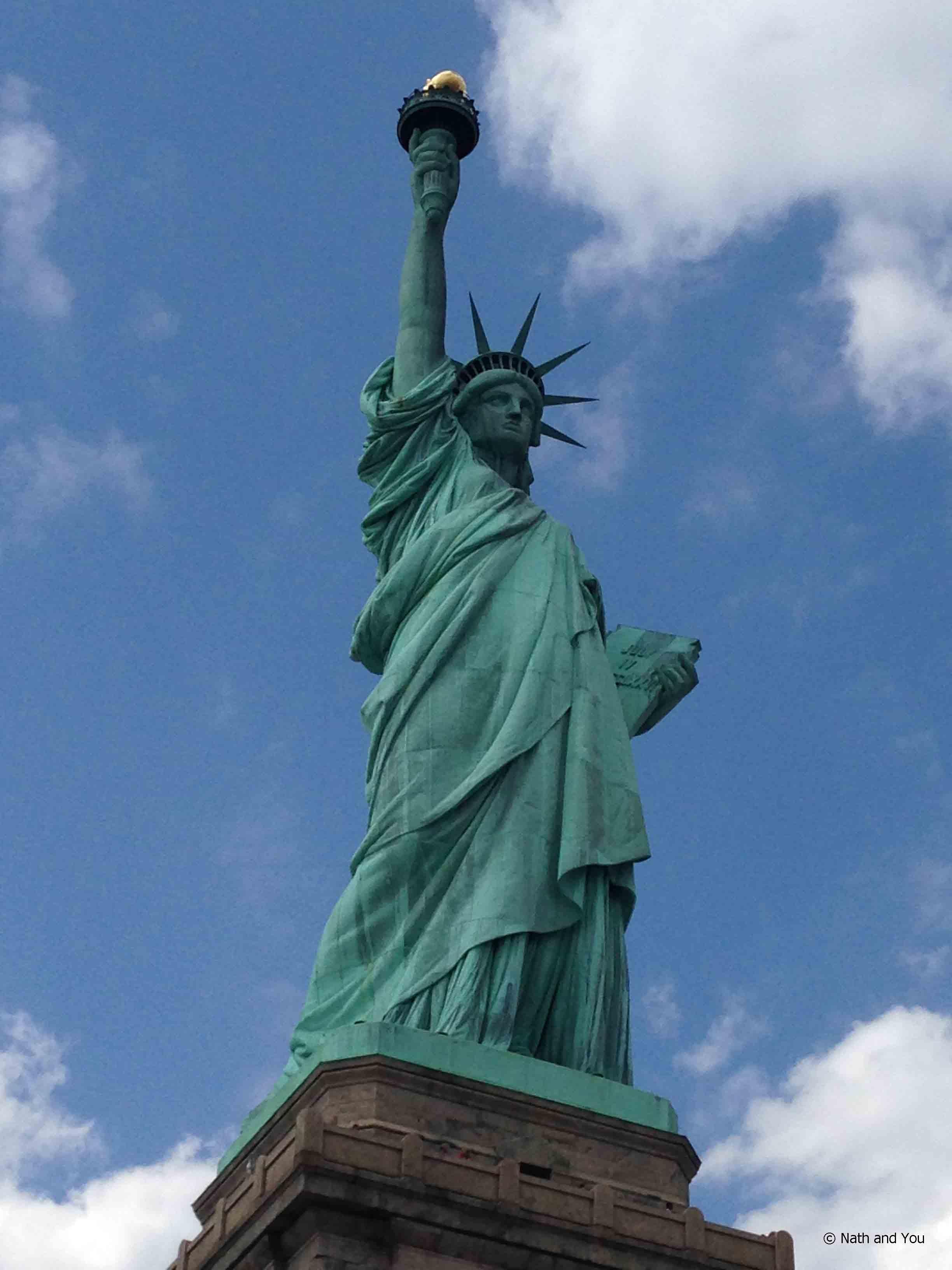 New york capitale culturelle nath and you for Createur statue de la liberte
