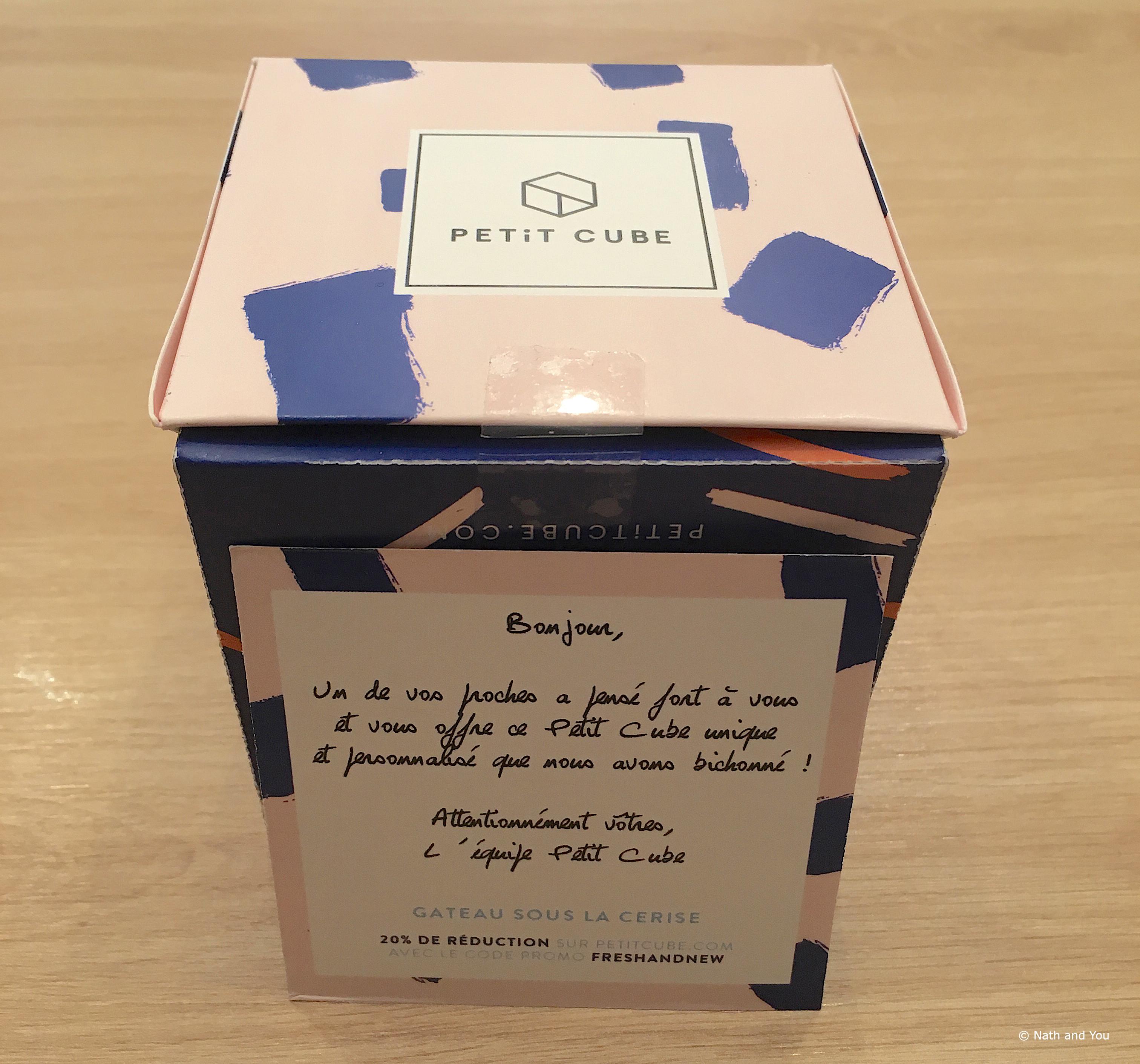 Petit Cube : l'idée cadeau 100% personnalisable