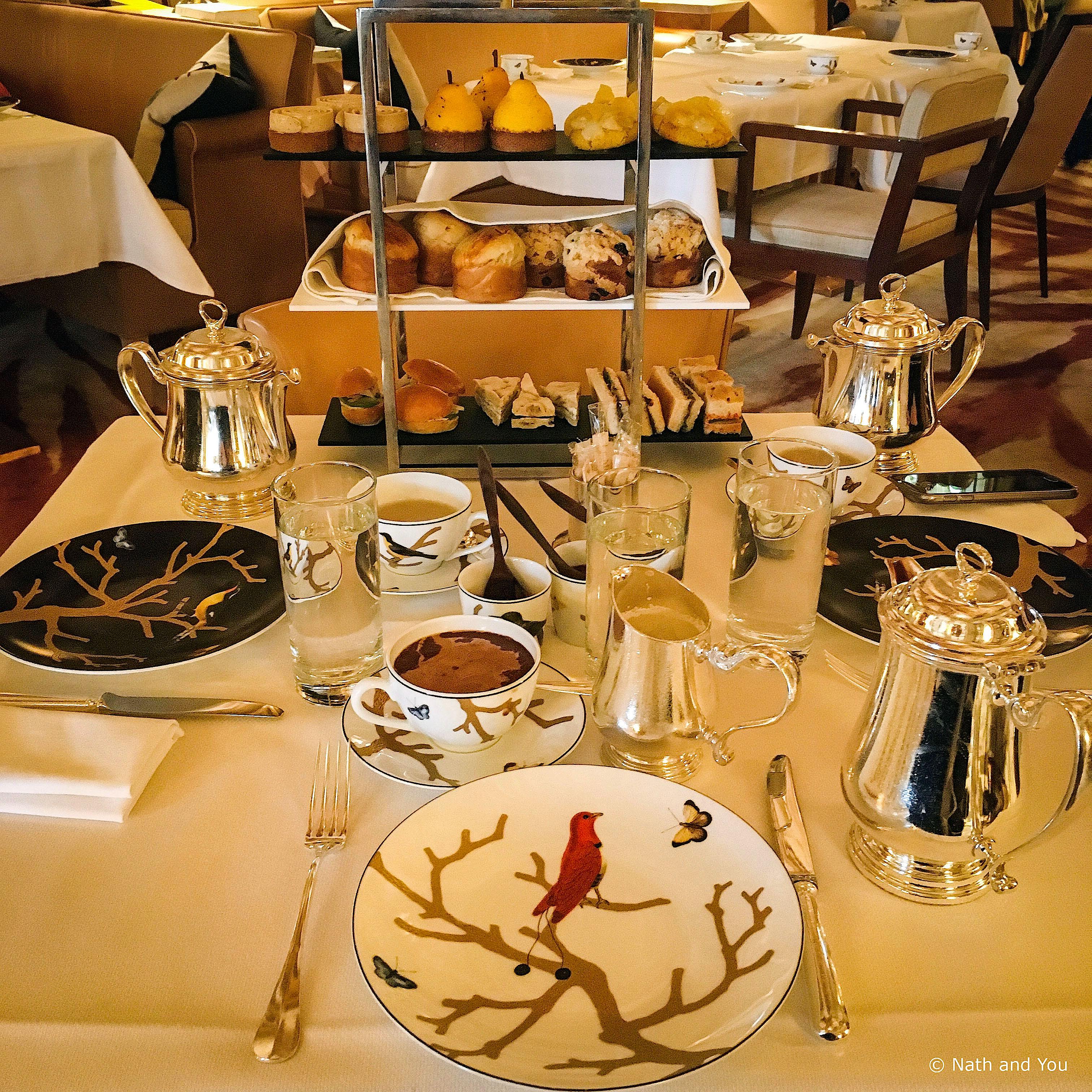 Cédric Grolet et le merveilleux Tea Time du Meurice