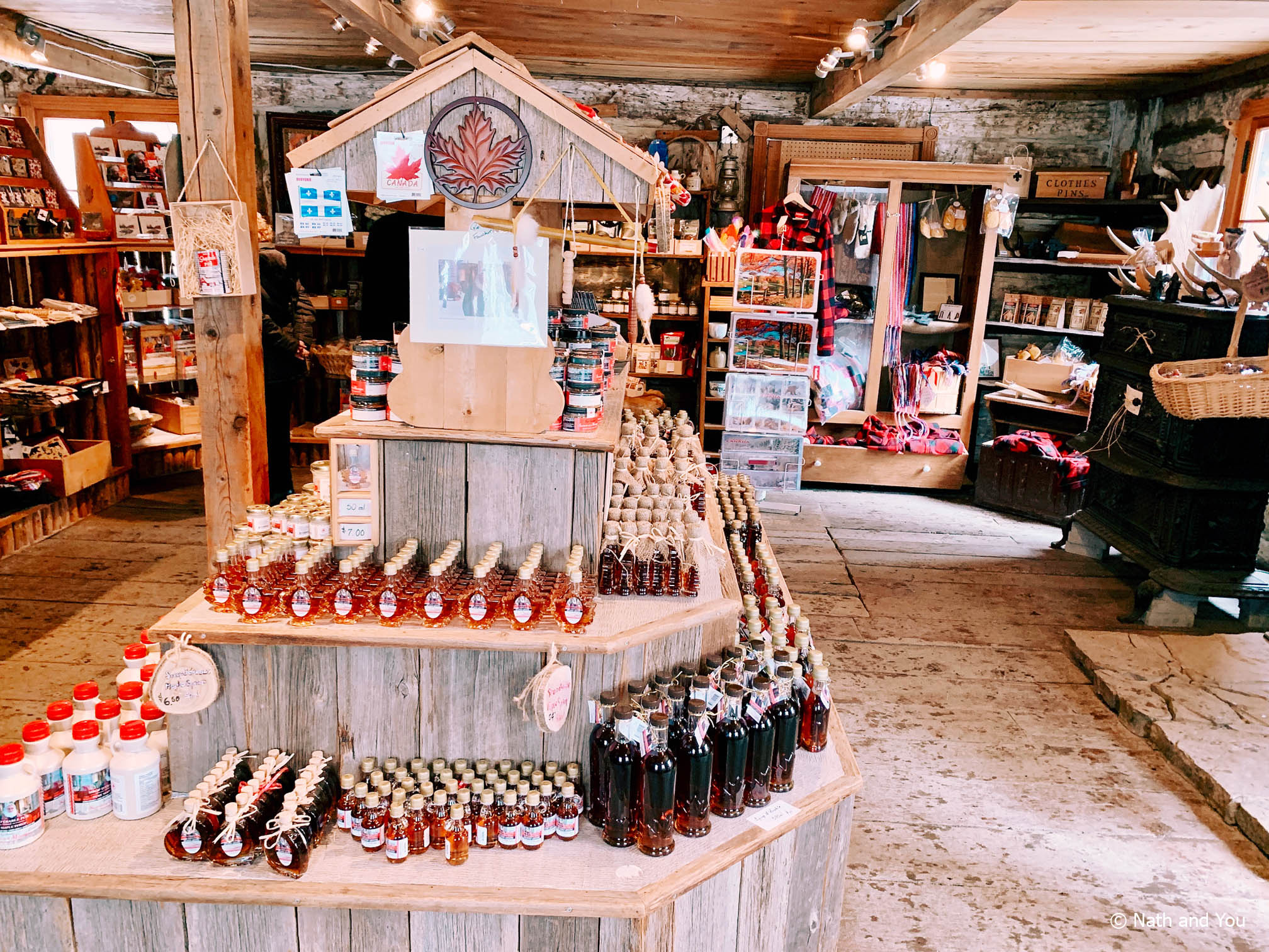 Cabane à sucre Sucrerie de la Montagne - Magasin Général