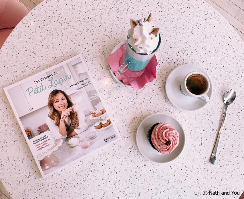 Livre Recette Pâtisseries Petit Lapin de Viviane Nguyen